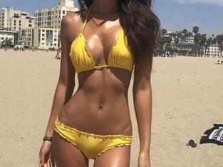 Sexy elegant erotic beach babe private CBD